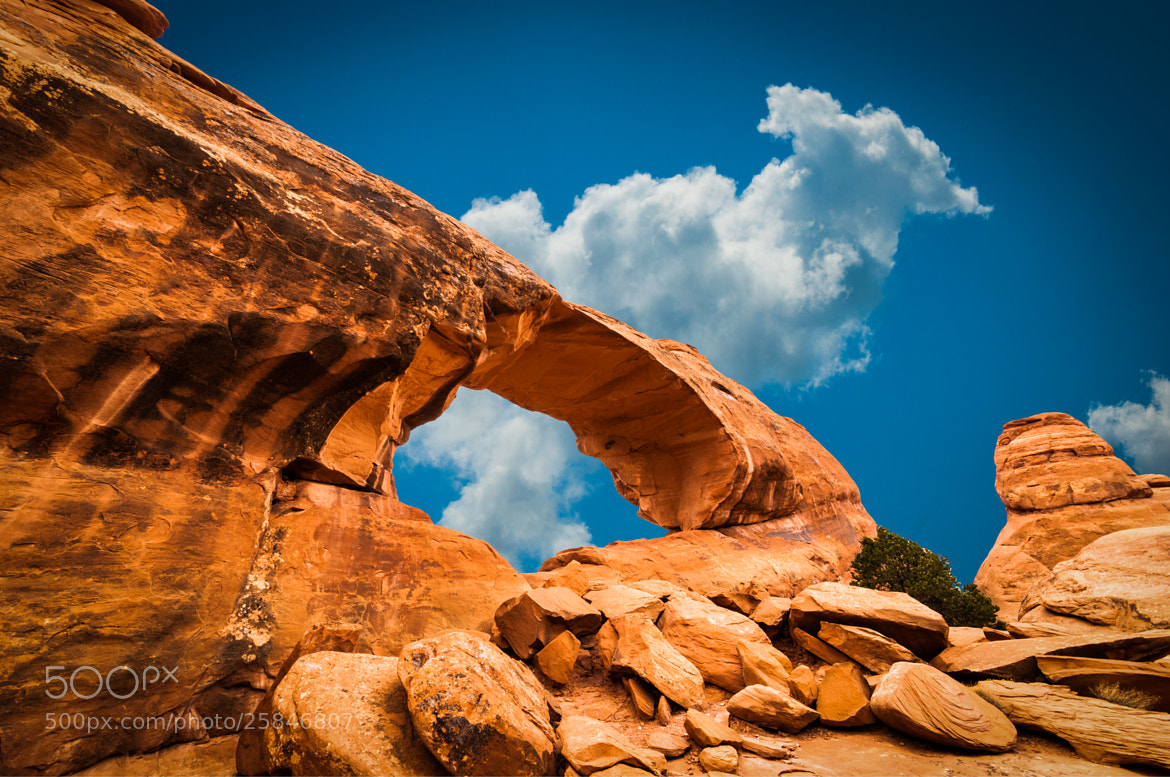 Photograph Skyline Arch by Karsten May on 500px