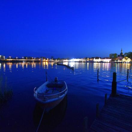 Blaue Stunde an der, Nikon D750, AF-S Zoom-Nikkor 14-24mm f/2.8G ED
