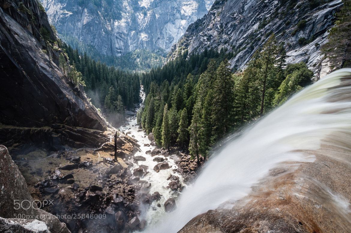 Photograph Vernall Fall and Mist Trail by Karsten May on 500px