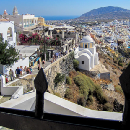 Santorin Greece , the, Canon IXUS 220 HS