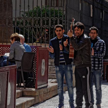 Street Musicians, Nikon D7000, Sigma 18-125mm F3.5-5.6 DC