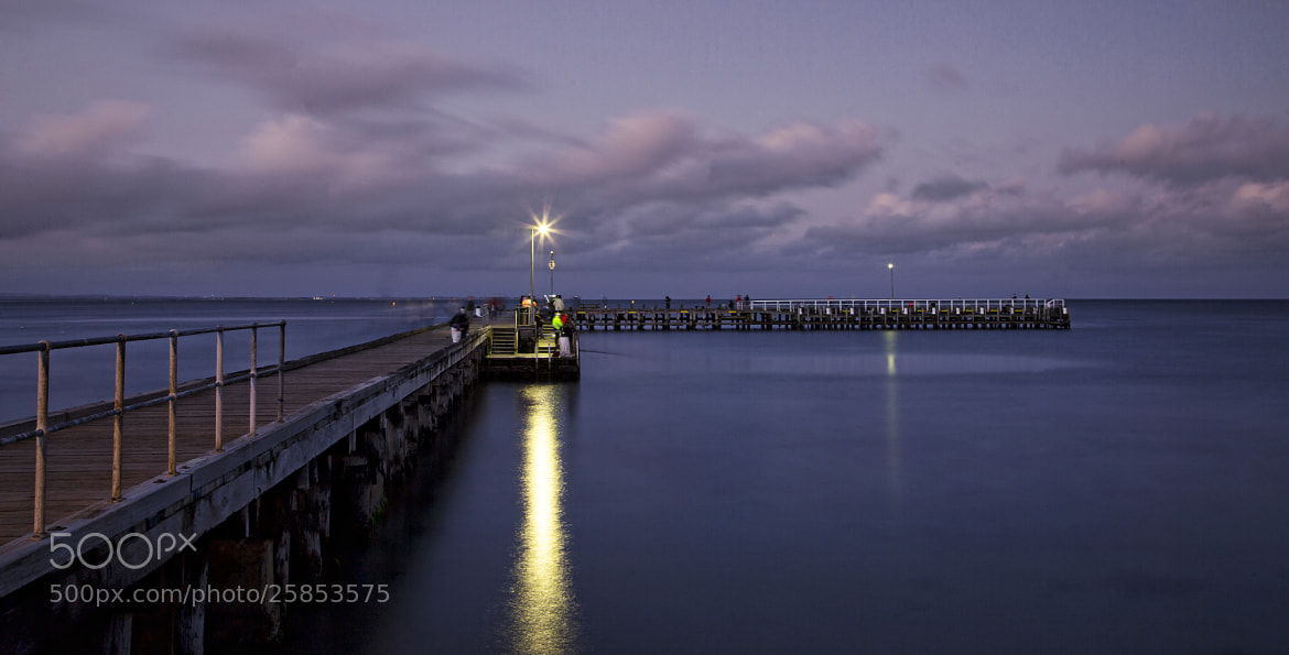Photograph Along The Pier by Ewan Arnolda on 500px