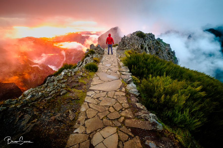 Two Paths - Between the clouds ! by Bruno Soares on 500px.com
