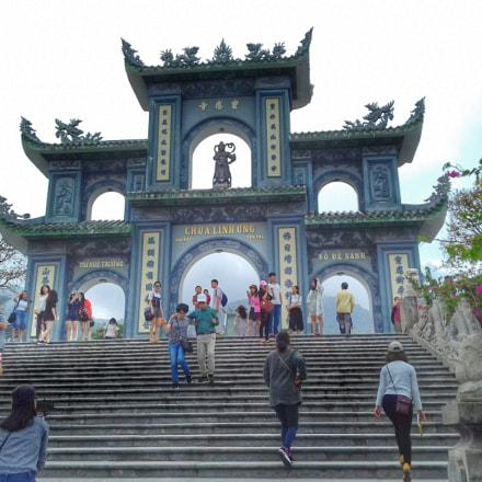 Linh Ung pagoda, Samsung Galaxy J3