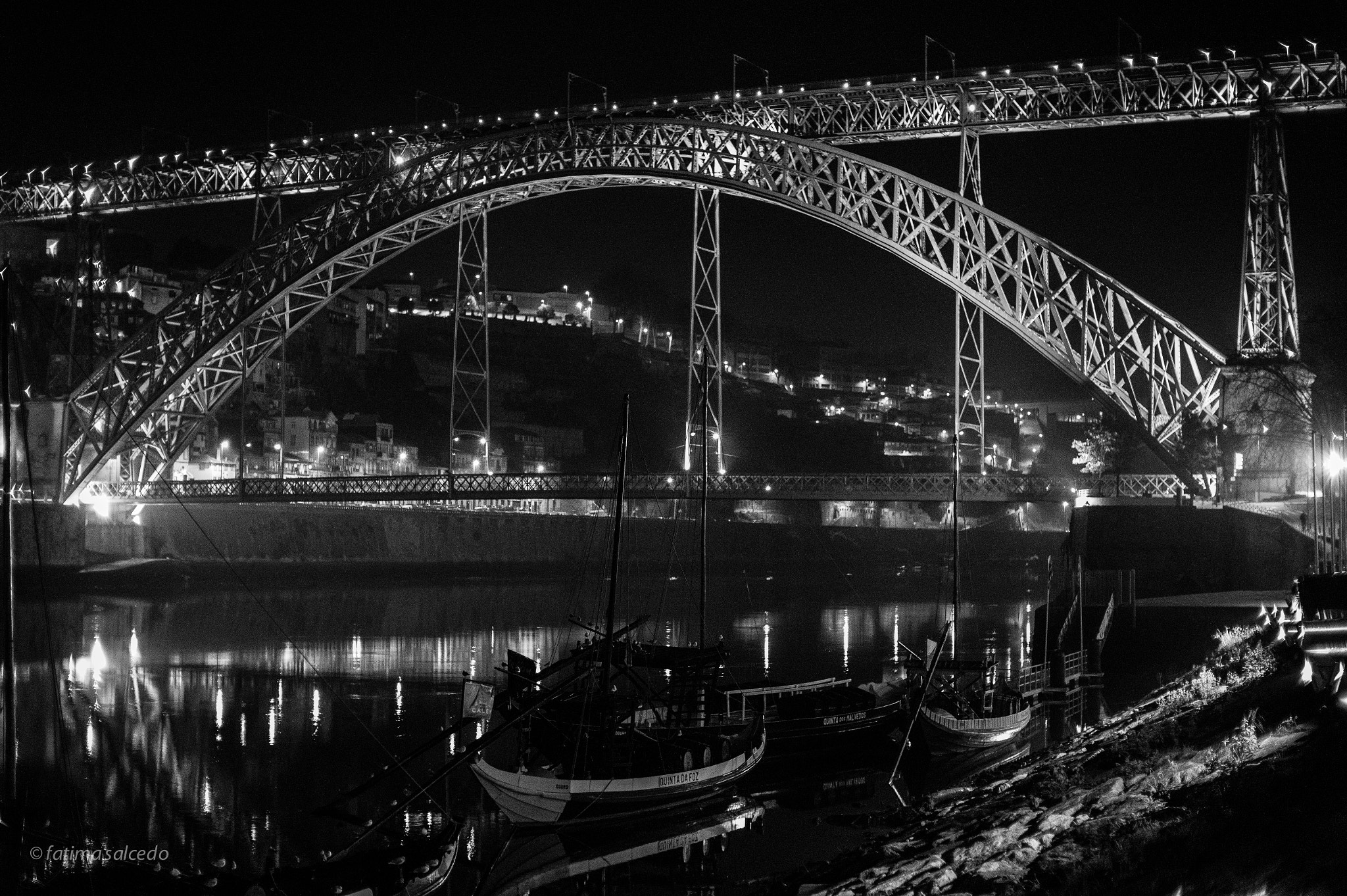 Photograph D. Luis Bridge... Porto, Portugal by fatima salcedo on 500px