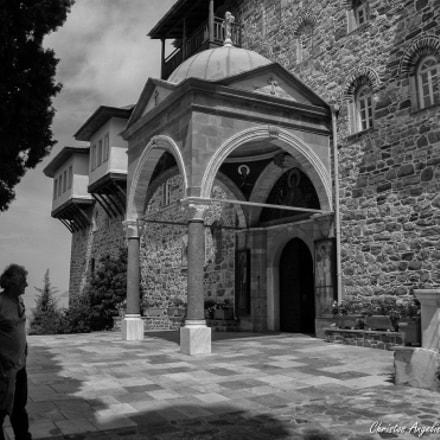 Holy Monastery of Panteleimonos.Ag.Oros.Greece, Nikon COOLPIX L100