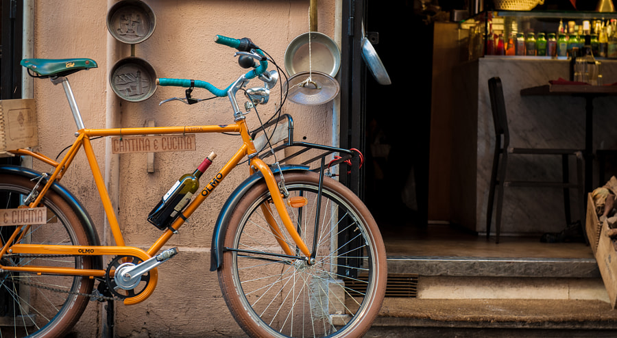 Bicycle & Wine by Tyler Close on 500px.com