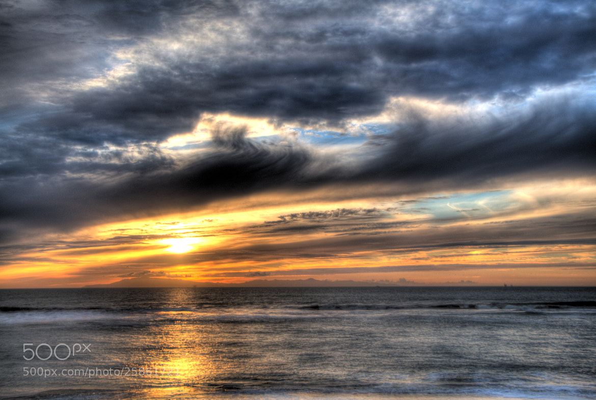 Photograph Oxnard Sunset HDR by Thomas Nelson on 500px