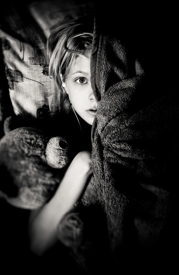 Photograph The Girl & the Bear by Peter Hernandez on 500px