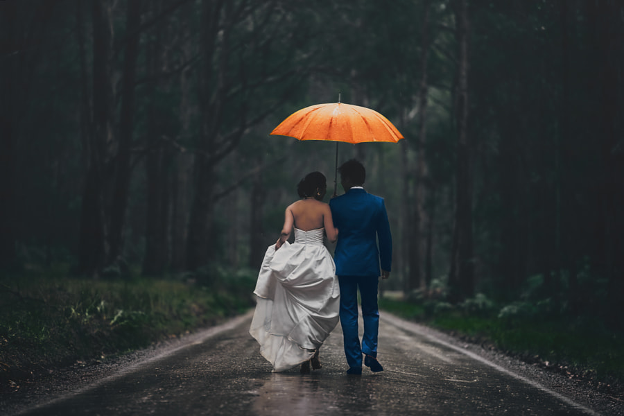 Wedding photography - Down the wet aisle by Jonathan Ho on 500px.com