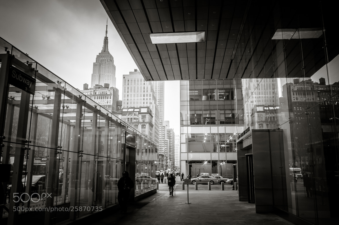 Photograph View on New york B/W by Frank Hazebroek on 500px