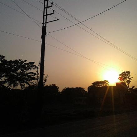 Street Sunset, Samsung Galaxy J1 Ace