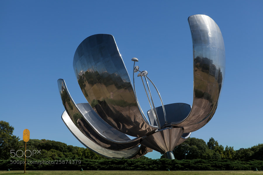 Photograph Floralis Generica by Guillermo Rico on 500px