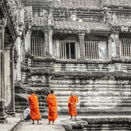 Angkor Wat | Cambodia, Nikon E5700