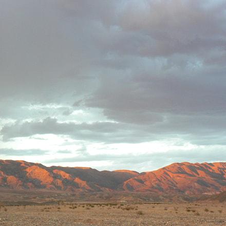 Death valley mountains, Panasonic DMC-FZ7