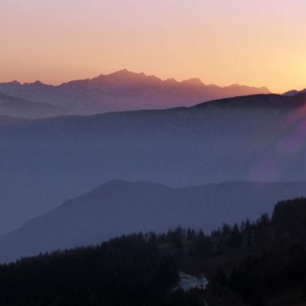 Sunset from Renon, Panasonic DMC-TZ35