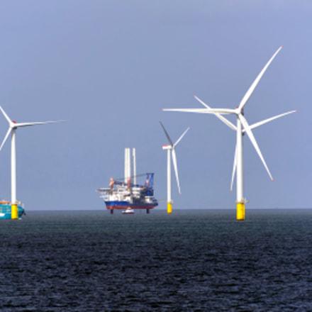 Race Bank Wind Farm, Nikon D5200