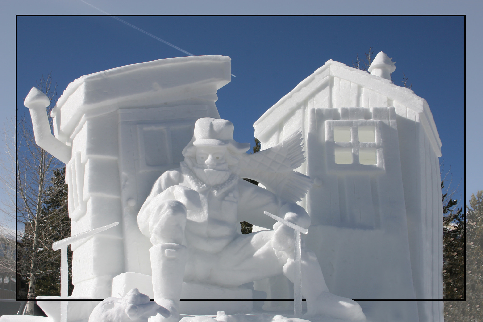Photograph Snow Sculpture by Trung Tran on 500px