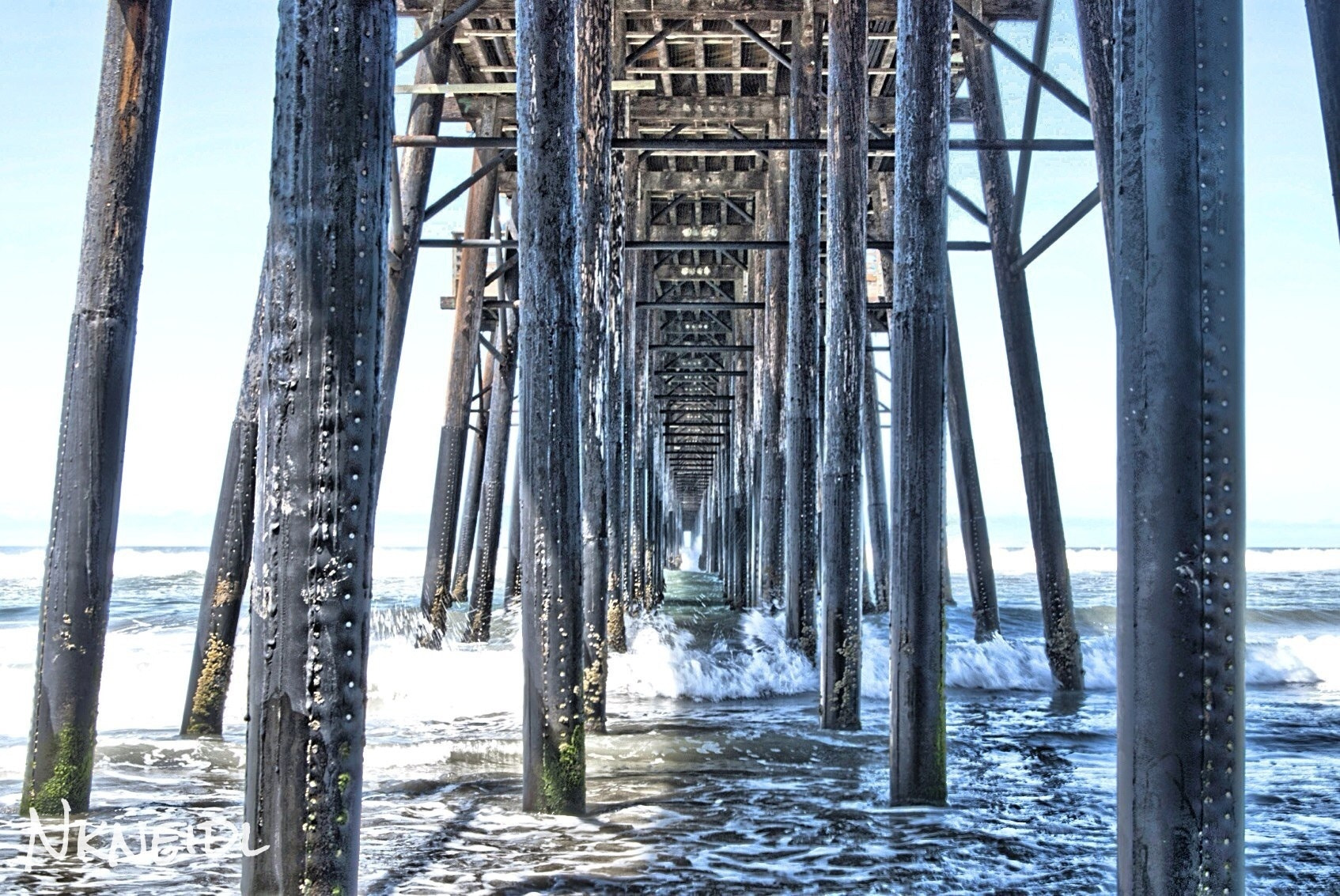 Photograph Under the pier by nkneidlphotography on 500px