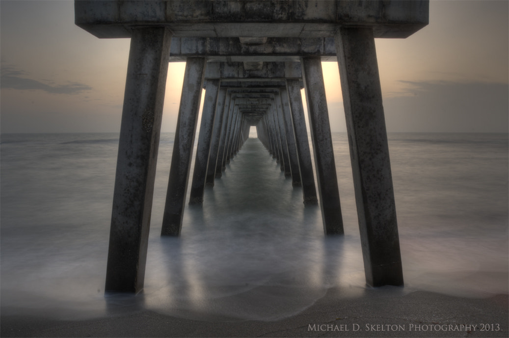 Photograph Under the boardwalk by Michael Skelton on 500px