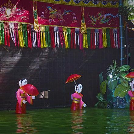 Vietnamese Puppet Show on, Canon POWERSHOT G9 X
