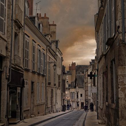 Art Street - Blois, Nikon DF, AF Nikkor 50mm f/1.4D