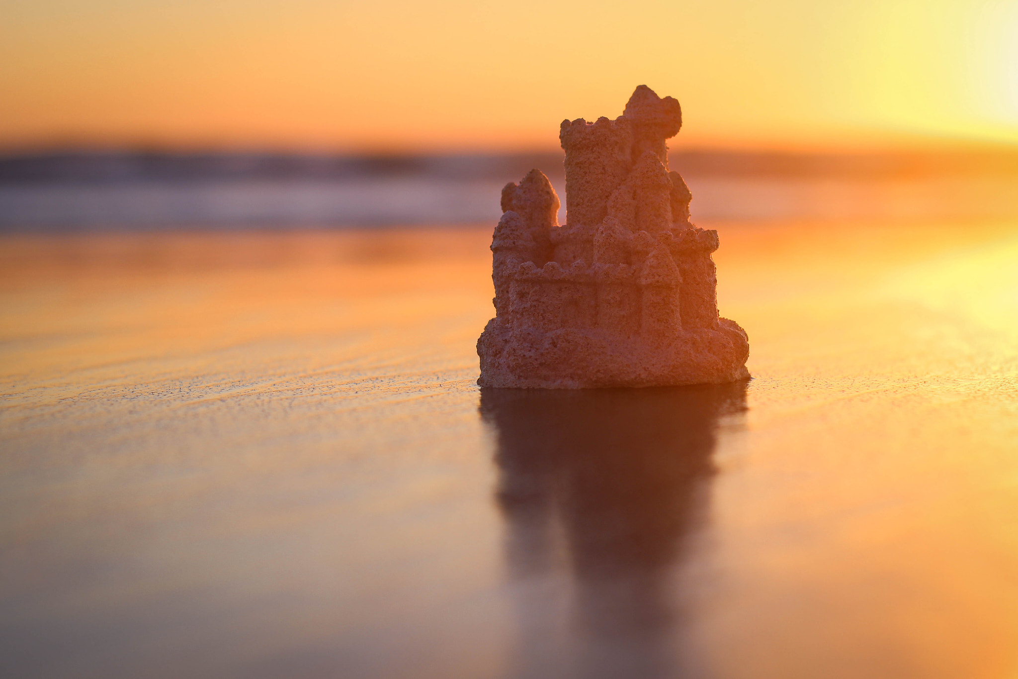 Photograph Castle by the Sea by Courtney D on 500px
