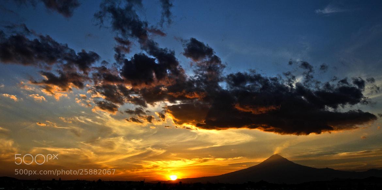 Photograph Sunset adn volcano by Cristobal Garciaferro Rubio on 500px