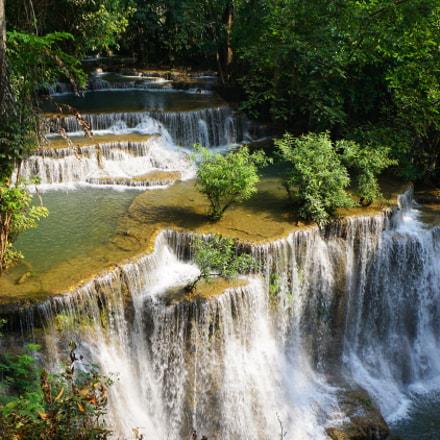 thailand waterfall, Sony ILCE-6000, Sony E 20mm F2.8