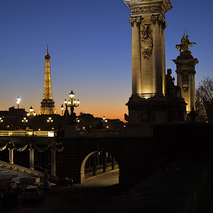 Pont Alexandre III, Nikon D7000, Sigma 17-70mm F2.8-4 DC Macro OS HSM