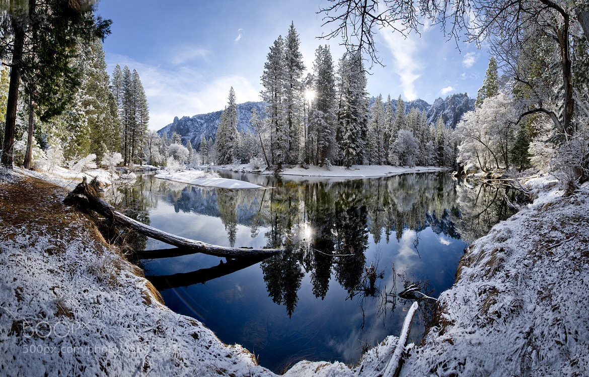 Photograph Winter Sunrise On The Merced River by William McIntosh on 500px