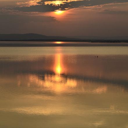 Coucher de soleil dans, Nikon D7000, Sigma 17-70mm F2.8-4 DC Macro OS HSM