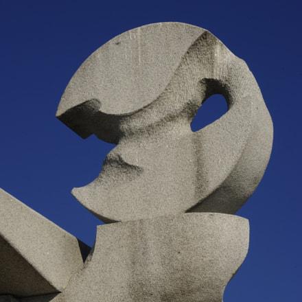 Statue de plage, Pentax K-R, smc PENTAX-F 35-70mm F3.5-4.5