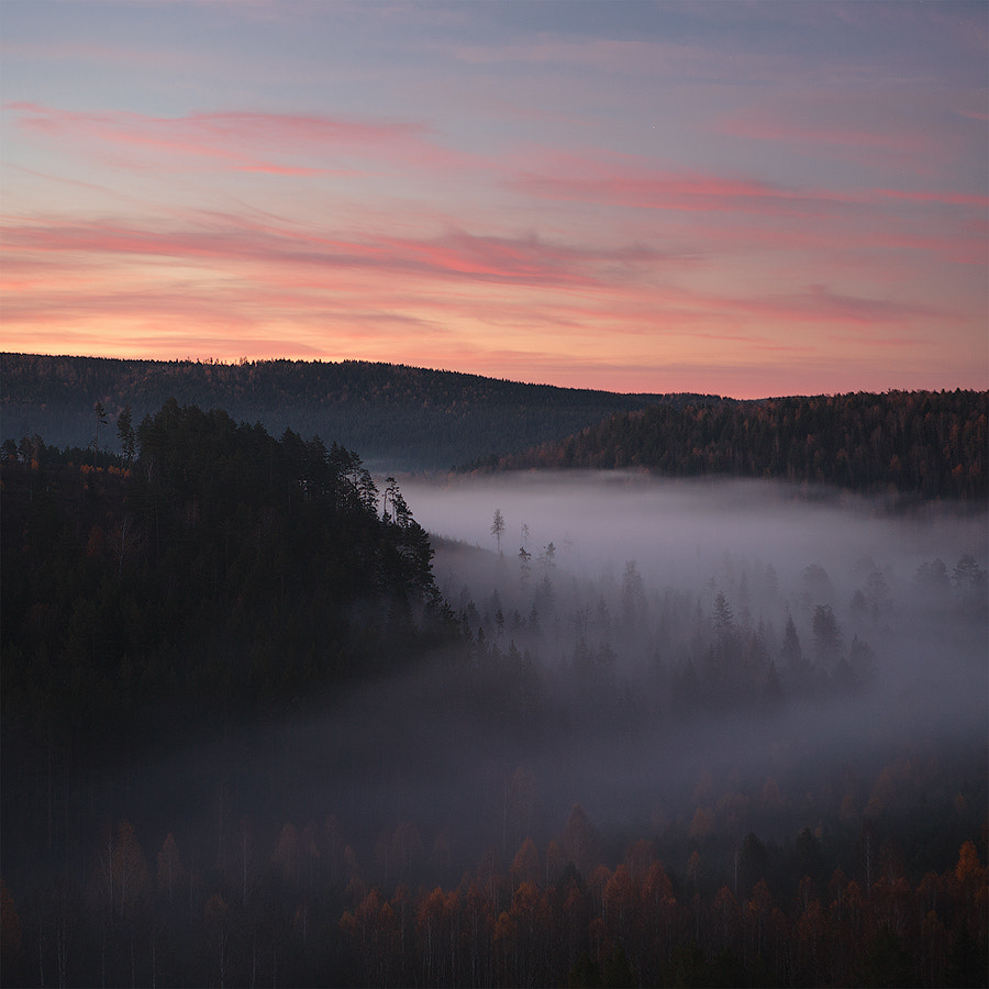 Photograph in the river fog  by Marat Akhmetvaleev on 500px