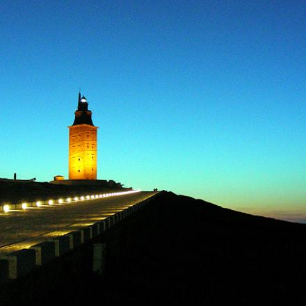 Atardecer en la Torre, Nikon COOLPIX S4