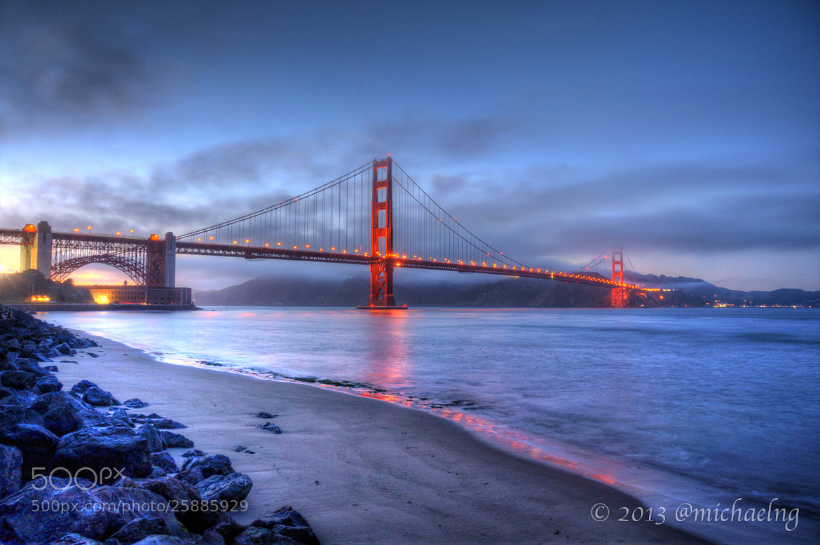 Photograph Golden Gate Bridge IV by Michael Ng on 500px