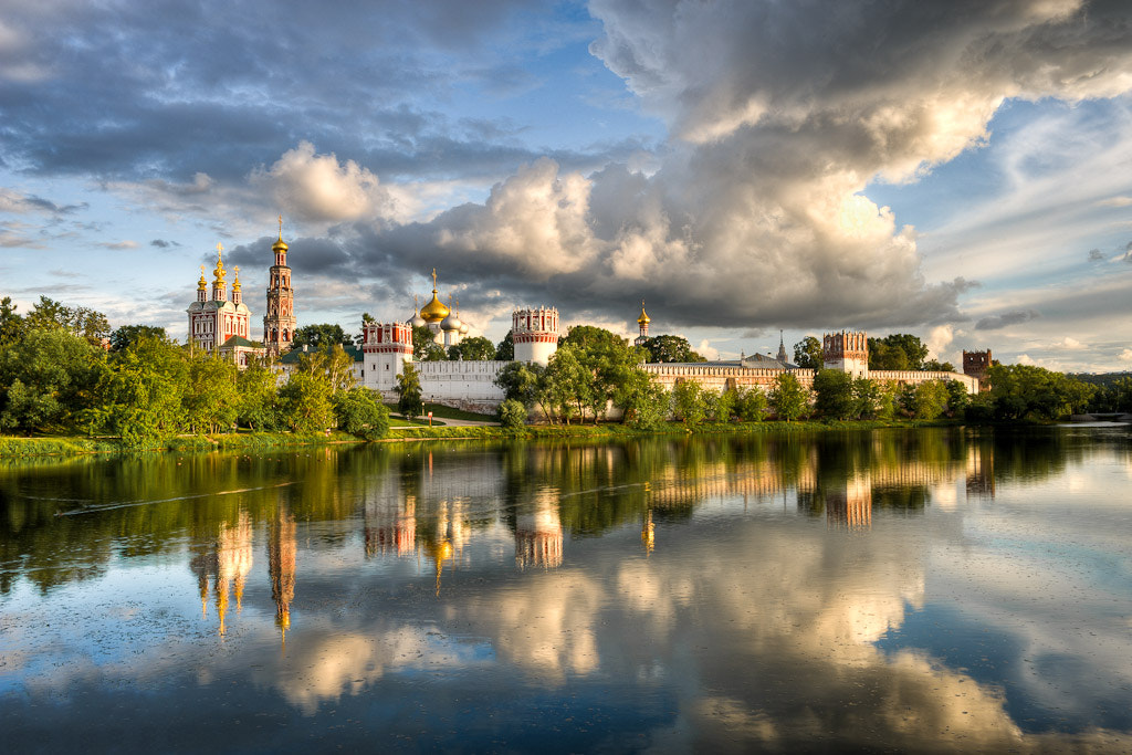 Photograph Novodevichy monastery by Alexander aka Ancifer on 500px