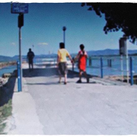 Trasimeno - La passeggita., Fujifilm FinePix S5500
