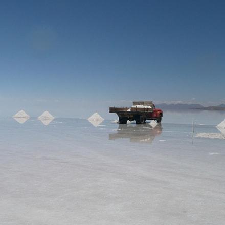 water on salt, Panasonic DMC-TZ3