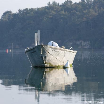 Barque sur l'Aven Pont, Nikon D750