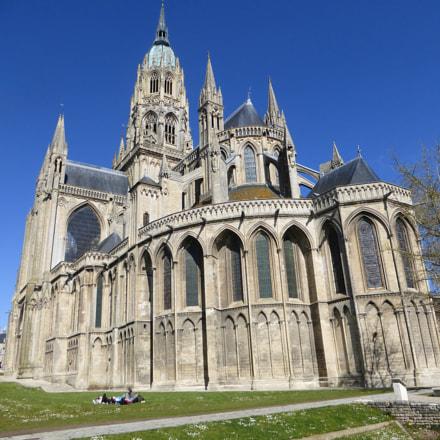 Bayeux cathedral, Panasonic DMC-TZ36