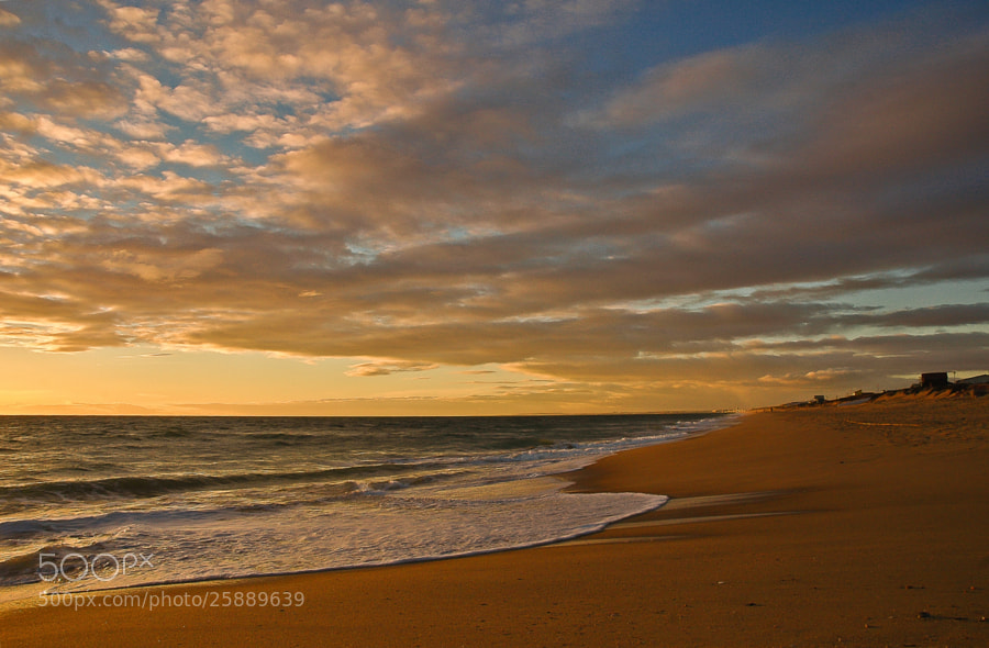 Photograph Sunset on Faro Beach 5... by José Covas on 500px