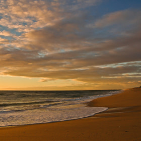 Sunset on Faro Beach 5... by José Covas (covas)) on 500px.com