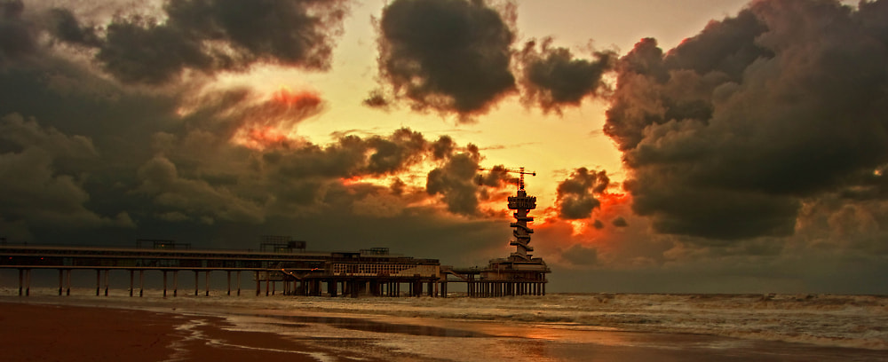 Photograph Dramatic Sky@ Scheveningen  by Saeid Erfany on 500px