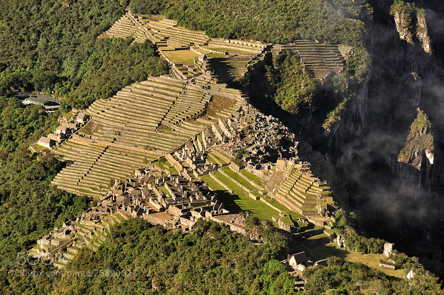Photograph Machu Picchu from Above by Csilla Zelko on 500px