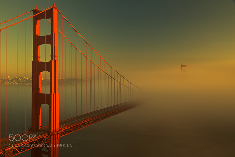 Photograph Golden Gate Bridge by Joseph Trinh on 500px
