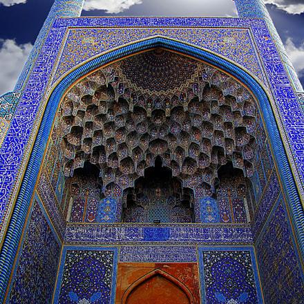 Imam mosque.isfahan, Fujifilm FinePix S100FS