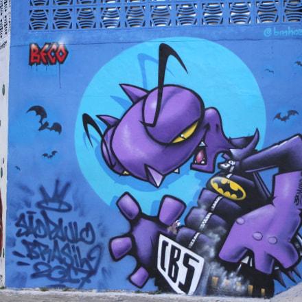 Beco do Batman, Canon EOS KISS X4, Canon EF 28-80mm f/3.5-5.6