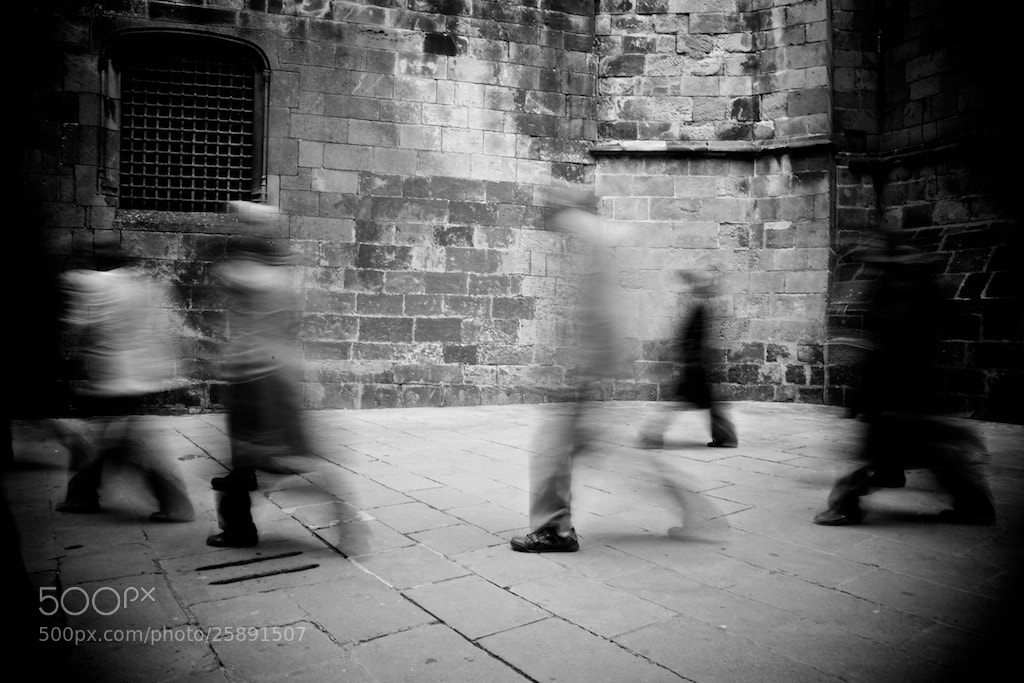Photograph Walking Dead - Barcelona by Joan Vendrell on 500px