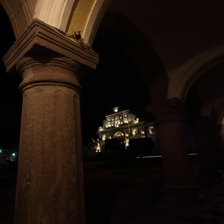 CATEDRAL DESDE PALACIO REAL, Canon EOS REBEL T5I, Canon EF-S 10-18mm f/4.5-5.6 IS STM